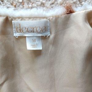 Decree Jackets & Coats - Faux Fur Vest